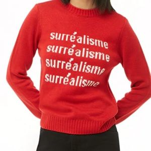 5/$25 NWT Forever 21 Surrealisme Sweater